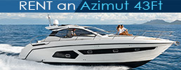 Rent an Azimut 43ft in Mykonos